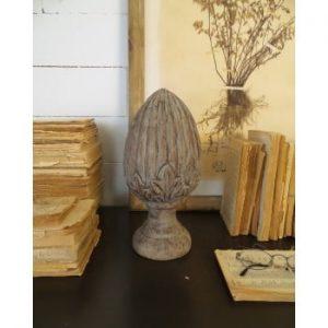 Decorațiune din lemn de mango Orchidea Milano Dario Small, ⌀ 14 cm