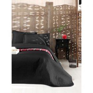 Set cuvertură pat și 2 fețe de pernă din amestec de bumbac Kralice, 240 x 220 cm