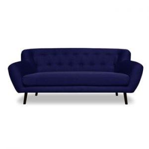 Canapea 3 locuri Cosmopolitan desing Hampstead, albastru închis