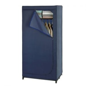 Șifonier depozitare Wenko Business, înălțime 160 cm, albastru