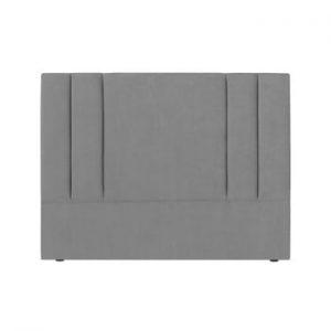 Tăblie pat Kooko Home Kasso, 120 x 180 cm, gri