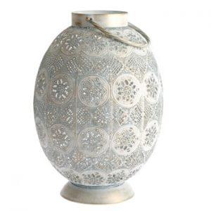 Felinar metalic Dakls Larito, înălțime 30,5 cm