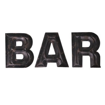 Litere decorative Antic Line Bar