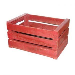 Cutie din lemn Antic Line Wooden Red