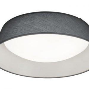 Plafonieră LED Trio Ponts, ⌀ 45 cm, negru