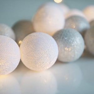 Șirag luminos Silver, 35 beculețe
