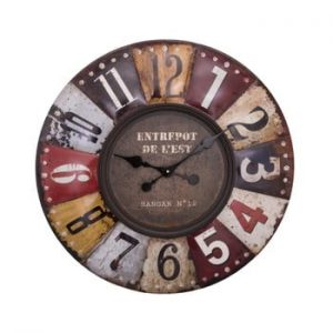 Ceas de perete Antic Line Pendule Multicolore, ⌀ 70 cm