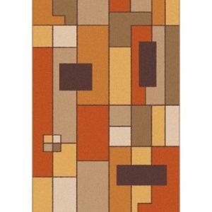 Covor Universal Boras Rust, 133 x 190 cm, maro-portocaliu
