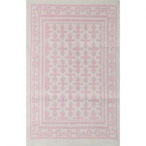 Covor Jamila Pink, 140 x 200 cm, roz deschis