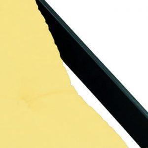 Fotoliu pliant Karup Design Boogie Black/Yellow