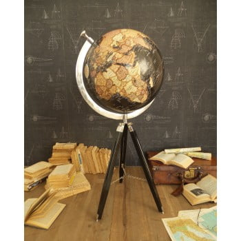 Glob decorativ Orchidea Milano Tommaso, înălțime 117 cm