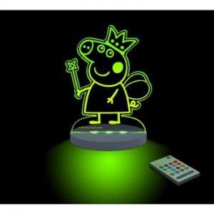 Lampă de veghe cu LED pentru copii Peppa Pig Hada