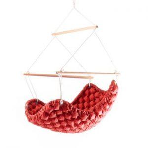 Leagăn de interior Linda Vrňáková Swingy In, roșu