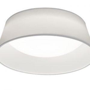 Plafonieră LED Trio Ponts, ⌀ 34 cm, alb