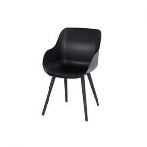Set 2 scaune de grădină Hartman Sophie Organic Studio Chair, negru