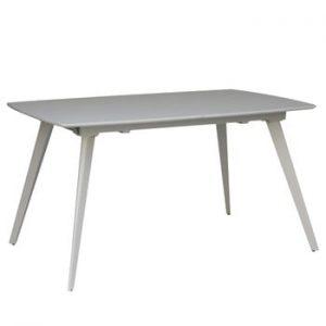 Masă extensibilă stůl sømcasa Tessa, 140 x 90 cm, gri