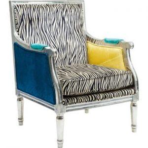 Fotoliu Kare Design Zebra