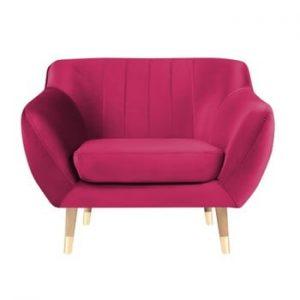 Fotoliu Mazzini Sofas Benito, roz