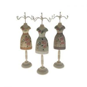 Set 3 suporturi din lemn pentru bijuterii Antic Line Rasso