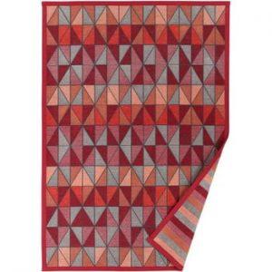 Covor reversibil Narma Treski, 70 x 140 cm, roșu