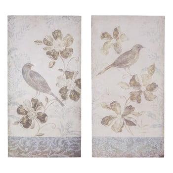 Set 2 plăcuțe decorative Antic Line Birdy