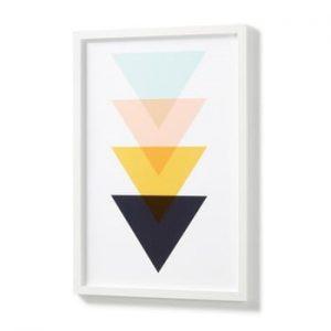 Poster cu ramă albă La Forma Blanks