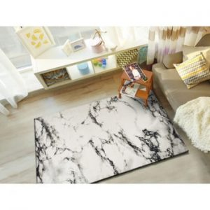 Covor potrivit pentru exterior, alb, Universal Kaunas, 135 x 190 cm