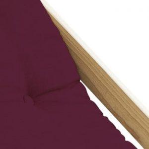 Scaun pliabil Karup Design Boogie Raw/Bordeaux