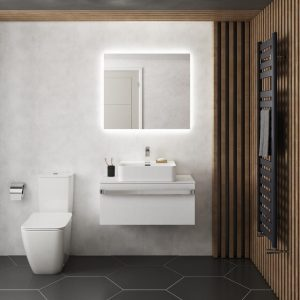 Oglinda cu iluminare Ideal Standard MirrorLight Ambient 70x70 cm