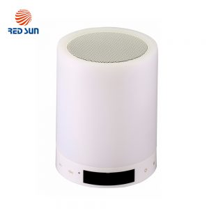 Boxa portabila si lampa RGB smart cu Bluetooth si touch Red Sun
