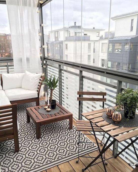 idei amenajare balcon mobilier balcon