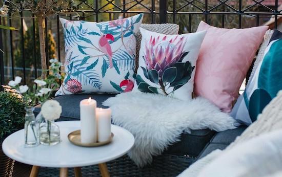 perne decorative balcon