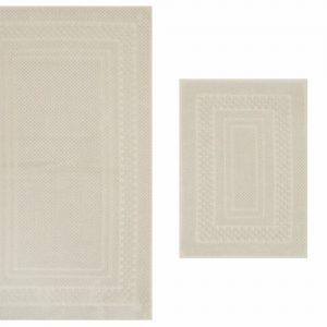 Set covor de baie Hobby, 317HBY1011, bumbac 100 procente, 2 piese, 40 x 60 cm