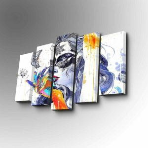 Tablou decorativ Art Five, 747AFV1364, Multicolor
