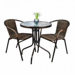 Set masa si scaune balcon