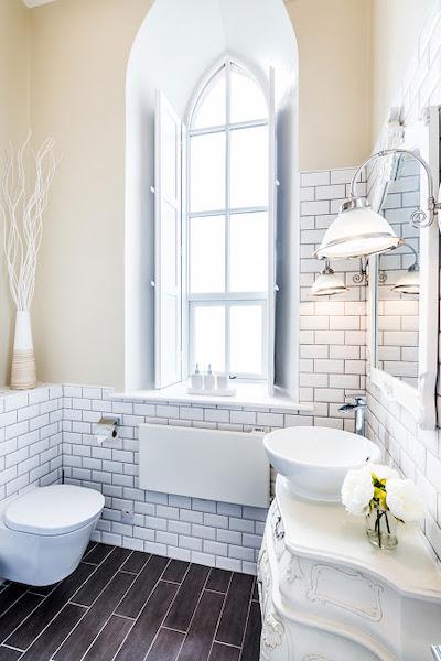 idee amenajare baie in stil elegant clasic