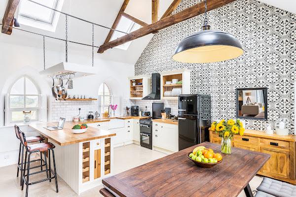 idee amenajare bucatarie open space casa