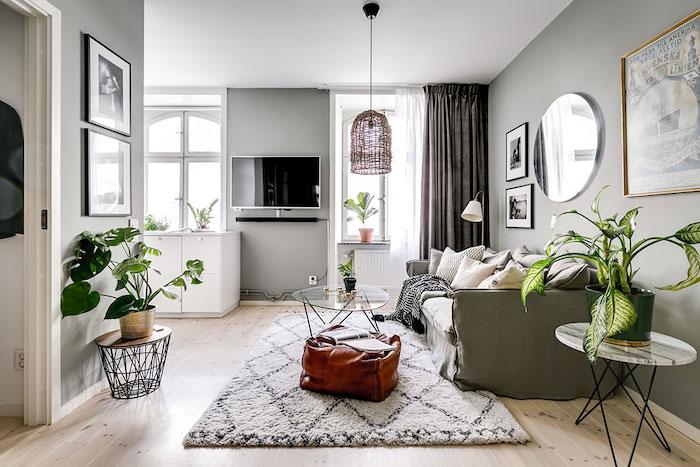 idei amenajare apartament in culori neutre