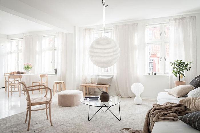 amenajare apartament in stil scandinav cu mobilier in stil scandinav