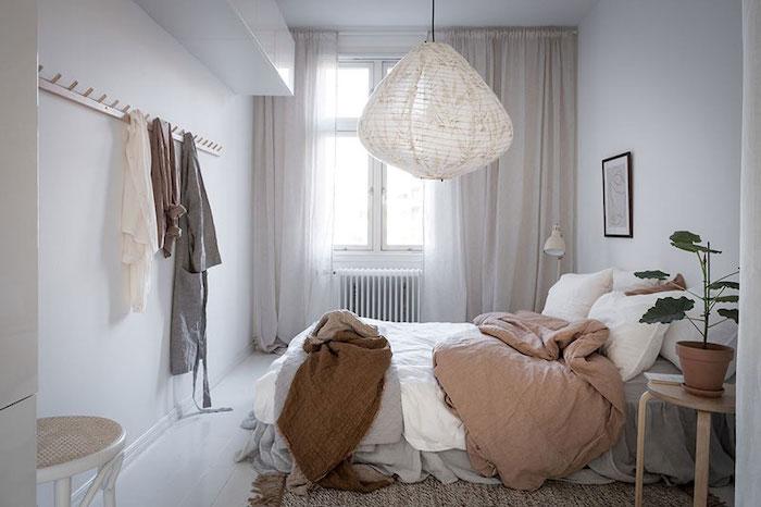 amenajare dormitor in stil scandinav mobilier in stil scandinav