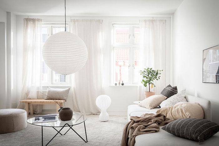 amenajare living in stil scandinav mobilier in stil scandinav