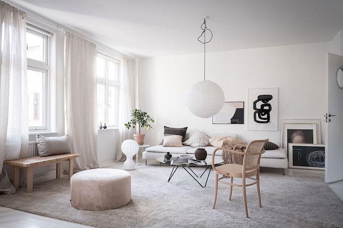 amenajare living modern in stil scandinav mobilier in stil scandinav
