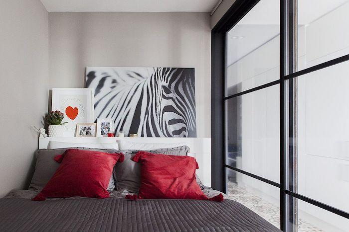 idee amenajare dormitor in garsoniera 35 mp