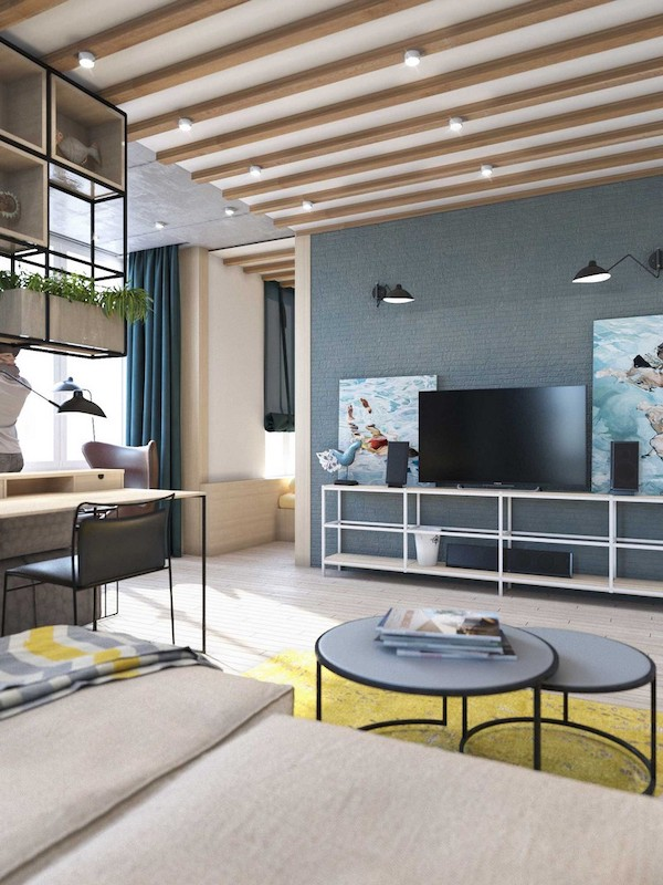 amenajare living idee amenajare apartament modern