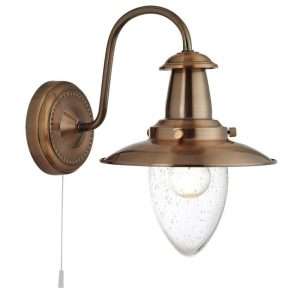 Aplica Searchlight Fisherman Copper