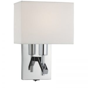 Aplica Searchlight Wall Light Cream