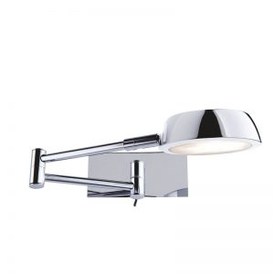 Aplica Searchlight Wall Light Folding Chrome