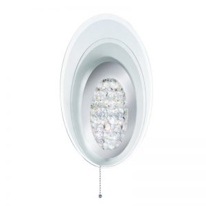 Aplica Searchlight Wall Light Oval LED