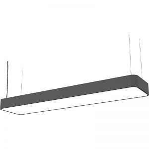 Lustra Nowodvorski Soft LED Graphite 90x20