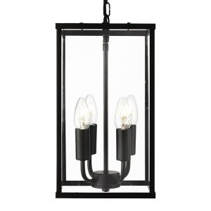 Pendul Searchlight Voyager Black IV